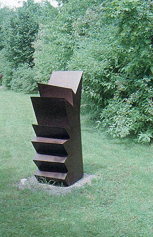 O.T., Stahl geschweisst, 150 x 67 x 49 cm, 1994