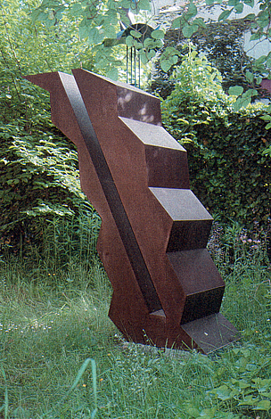 O.T., Stahl geschweisst, 152 x 134 x 47 cm, 1994