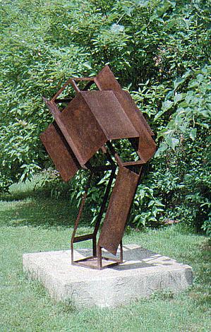O.T., Stahl geschweisst, 150 x 57 x 88 cm, 1999