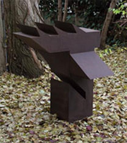 O.T., Stahl geschweisst, 100 x 96 x 83 cm. 2004