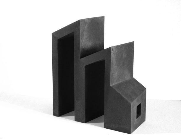 O.T., Stahl geschweisst, 45,5 x 42 x 18,5 cm, 2003