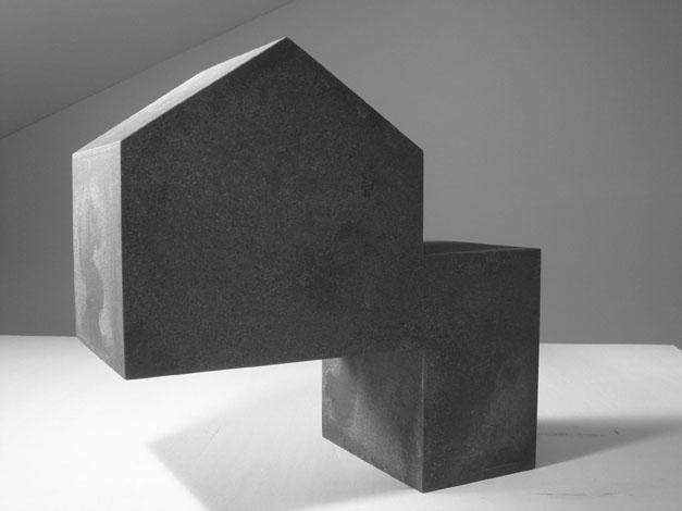 O.T. Stahl geschweisst, 45 x 48 x 24 cm, 2011