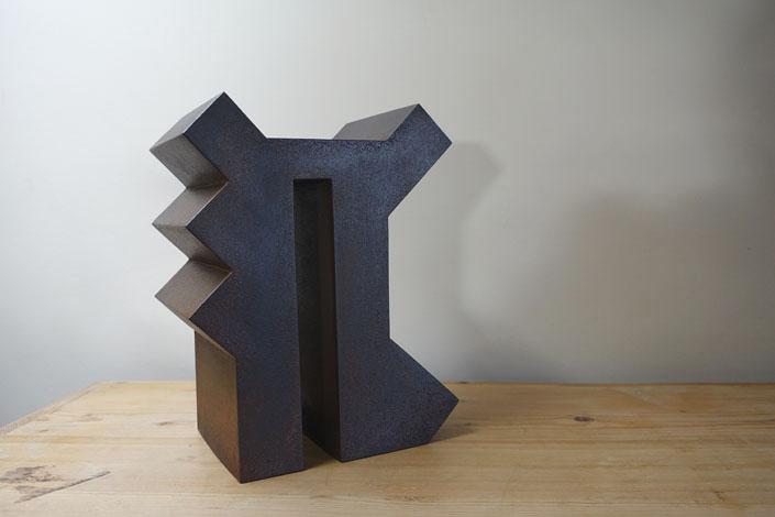 O.T., Stahl geschweisst, 37,5 x 25 x 16 cm, 2014