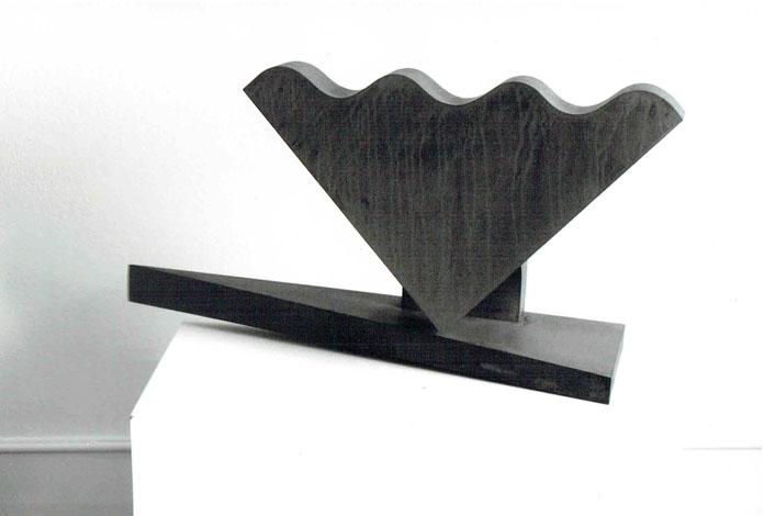 O.T., Stahl geschweisst, 48 x 89 x 25 cm, 2009