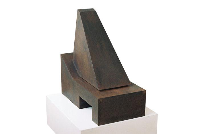 O.T.,Stahl geschweisst, 70 x 69 x 36,5 cm, 2008