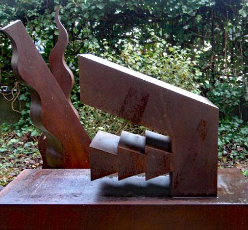 O.T., Stahl geschweisst, 65 x 60 x 25 cm, 2013