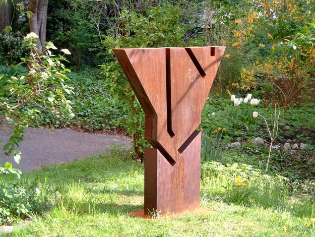 O.T., Stehl geschweisst, 120 x 89 x 16 cm, 2003