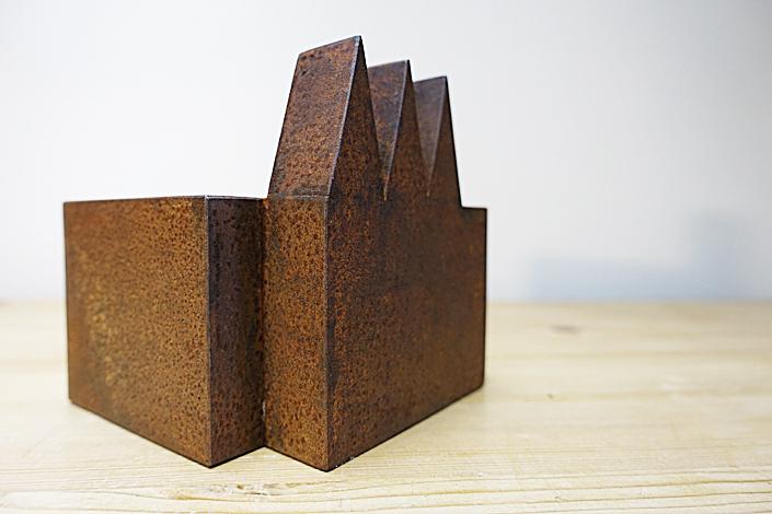 O.T., Stahl geschweisst, 12,5 x 12 x  12 cm, 2015