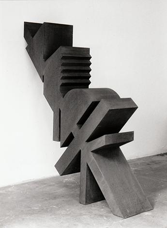 O.T., Stahl geschweisst, 108 x 92 x 25 cm, 1993