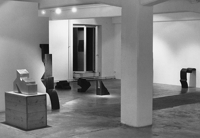 Ausstellungsraum 1994