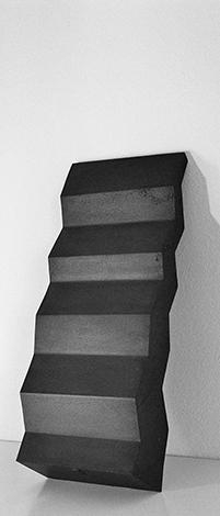 O.T., Stahl geschweisst, 59 x 26 x 23 cm, 1992