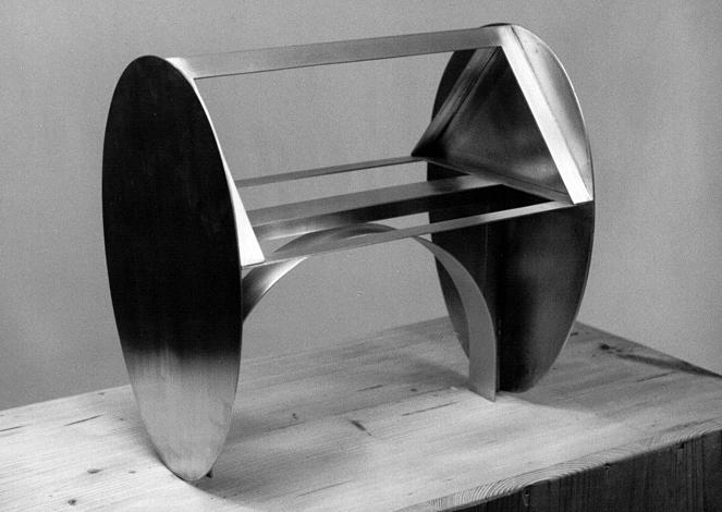 O.T., Zink, 35 x 35 x 25 cm, 1991