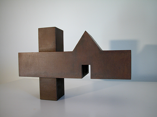 O.T., Stahl geschweisst, 33 x 47 x 16 cm, 2007