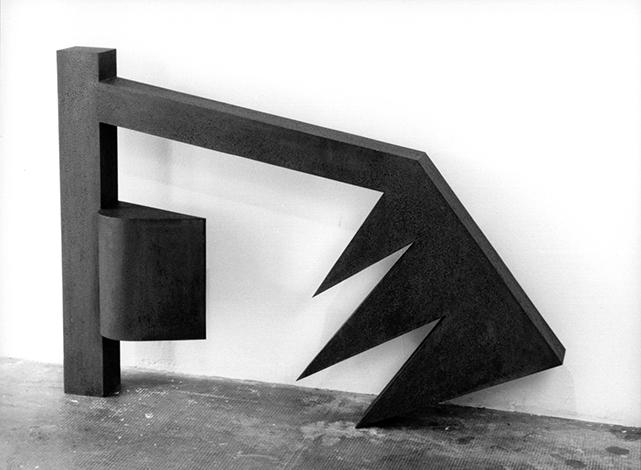 O.T., Stahl geschweist, 89 x 126 x 17 cm, 1993